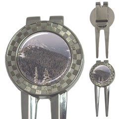 Mountains Golf Pitchfork & Ball Marker
