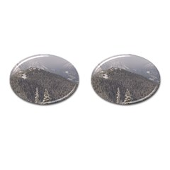 Mountains Cufflinks (oval) by DmitrysTravels