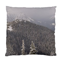 Mountains Cushion Case (single Sided)  by DmitrysTravels