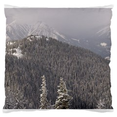 Mountains Large Cushion Case (two Sided)  by DmitrysTravels