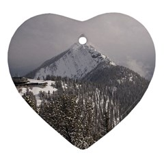 Gondola Heart Ornament (two Sides) by DmitrysTravels