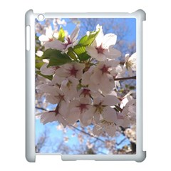 Sakura Apple Ipad 3/4 Case (white) by DmitrysTravels