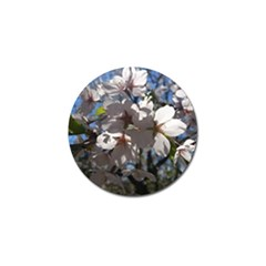 Cherry Blossoms Golf Ball Marker 4 Pack by DmitrysTravels