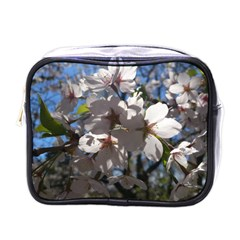 Cherry Blossoms Mini Travel Toiletry Bag (one Side)