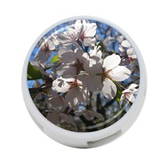 Cherry Blossoms 4 Port Usb Hub (one Side) by DmitrysTravels