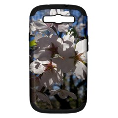 Cherry Blossoms Samsung Galaxy S Iii Hardshell Case (pc+silicone)
