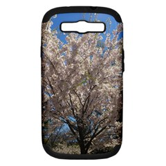 Cherry Blossoms Tree Samsung Galaxy S Iii Hardshell Case (pc+silicone) by DmitrysTravels