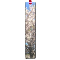 Cherry Blossoms Tree Large Bookmark by DmitrysTravels