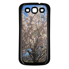 Cherry Blossoms Tree Samsung Galaxy S3 Back Case (black) by DmitrysTravels