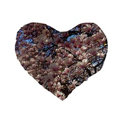Sakura 16  Premium Heart Shape Cushion