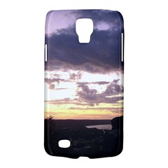 Sunset Over The Valley Samsung Galaxy S4 Active (i9295) Hardshell Case by Majesticmountain