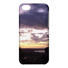 Sunset Over The Valley Apple Iphone 5c Hardshell Case by Majesticmountain