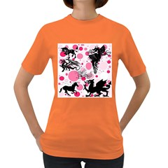 Fantasy In Pink Women s T Shirt (colored)