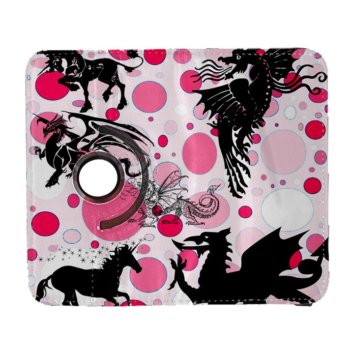 Fantasy In Pink Samsung Galaxy S  III Flip 360 Case