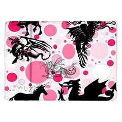 Fantasy In Pink Samsung Galaxy Tab 10 1  P7500 Flip Case