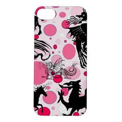 Fantasy In Pink Apple Iphone 5s Hardshell Case by StuffOrSomething