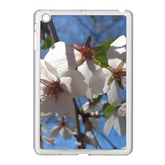 Cherry Blossoms Apple Ipad Mini Case (white) by DmitrysTravels