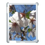 Cherry Blossoms Apple iPad 3/4 Case (White) Front