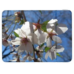 Cherry Blossoms Samsung Galaxy Tab 7  P1000 Flip Case by DmitrysTravels