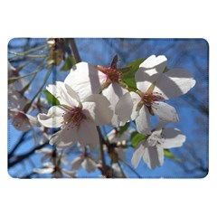 Cherry Blossoms Samsung Galaxy Tab 8 9  P7300 Flip Case by DmitrysTravels