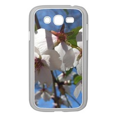 Cherry Blossoms Samsung Galaxy Grand Duos I9082 Case (white) by DmitrysTravels