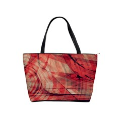 Grey And Red Large Shoulder Bag by Zuzu