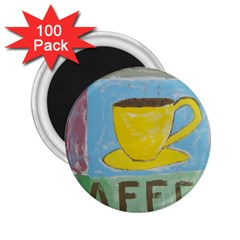 Kaffe Painting 2 25  Button Magnet (100 Pack) by StuffOrSomething