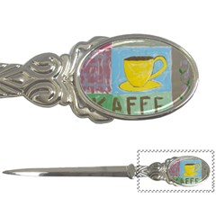 Kaffe Painting Letter Opener by StuffOrSomething