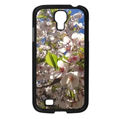 Cherry Blossoms Samsung Galaxy S4 I9500/ I9505 Case (black) by DmitrysTravels