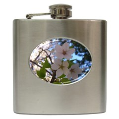 Sakura Hip Flask by DmitrysTravels