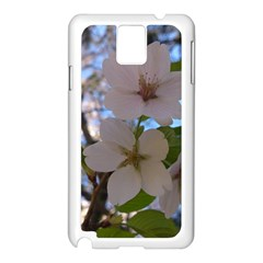 Sakura Samsung Galaxy Note 3 N9005 Case (white) by DmitrysTravels