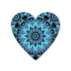 Star Connection, Abstract Cosmic Constellation Magnet (heart) by DianeClancy