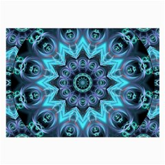 Star Connection, Abstract Cosmic Constellation Glasses Cloth (large) by DianeClancy