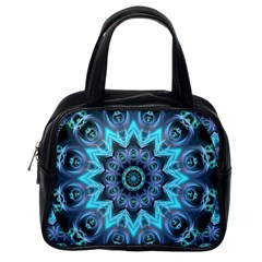 Star Connection, Abstract Cosmic Constellation Classic Handbag (one Side)