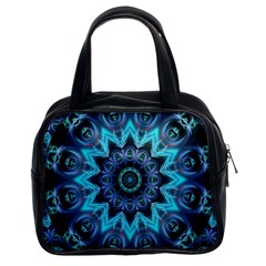 Star Connection, Abstract Cosmic Constellation Classic Handbag (two Sides) by DianeClancy