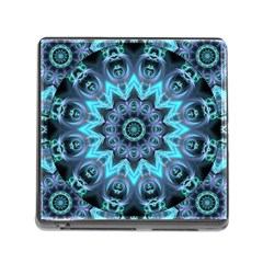Star Connection, Abstract Cosmic Constellation Memory Card Reader With Storage (square) by DianeClancy