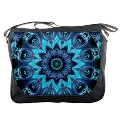 Star Connection, Abstract Cosmic Constellation Messenger Bag by DianeClancy