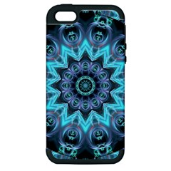 Star Connection, Abstract Cosmic Constellation Apple Iphone 5 Hardshell Case (pc+silicone) by DianeClancy