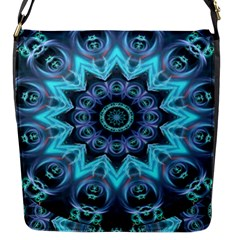 Star Connection, Abstract Cosmic Constellation Flap Closure Messenger Bag (small)