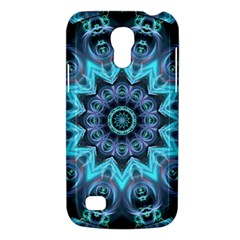 Star Connection, Abstract Cosmic Constellation Samsung Galaxy S4 Mini (gt I9190) Hardshell Case  by DianeClancy