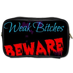 Beware Travel Toiletry Bag (one Side)