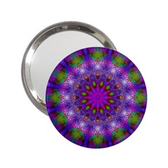 Rainbow At Dusk, Abstract Star Of Light Handbag Mirror (2 25 ) by DianeClancy