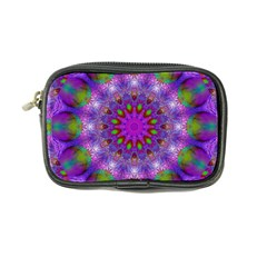 Rainbow At Dusk, Abstract Star Of Light Coin Purse by DianeClancy