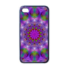 Rainbow At Dusk, Abstract Star Of Light Apple Iphone 4 Case (black) by DianeClancy