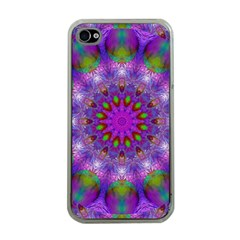Rainbow At Dusk, Abstract Star Of Light Apple Iphone 4 Case (clear) by DianeClancy