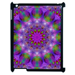 Rainbow At Dusk, Abstract Star Of Light Apple Ipad 2 Case (black) by DianeClancy