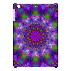 Rainbow At Dusk, Abstract Star Of Light Apple Ipad Mini Hardshell Case by DianeClancy