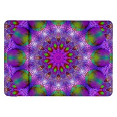 Rainbow At Dusk, Abstract Star Of Light Samsung Galaxy Tab 8 9  P7300 Flip Case by DianeClancy