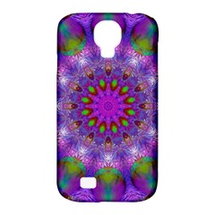 Rainbow At Dusk, Abstract Star Of Light Samsung Galaxy S4 Classic Hardshell Case (pc+silicone) by DianeClancy