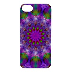Rainbow At Dusk, Abstract Star Of Light Apple Iphone 5s Hardshell Case by DianeClancy